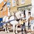 The Sole Bay Inn, Southwold - Sam, the Adnams Dray Horse by Steven Binks